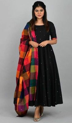 BS Presents Bollywood gown Catalogue of Banglori silk satin fabric party wear black colour Designer gown with pearl work at affordable price buy online from Surat exporters - Ethnic Collection Salwar Designs, Kurta Designs Women, Kurti Designs Party Wear, Lehenga, Anarkali Dress, Anarkali Kurti Cotton, Saree Gown, Punjabi Dress, Indian Designer Suits