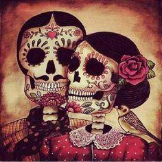 dia de los muertos. la calavera catrina.