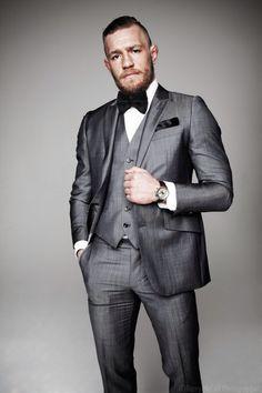 Conor McGregor in suit