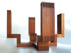 Trone designed by Alfred van Elk for art event Symposion Gorinchem.