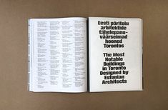 Graphic designer Laura Pappa's architecturally-informed book design Book Design, Layout, Graphic Design, Books, Editorial, Typography, Libros, Page Layout, Book