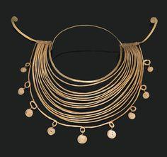 Alexander Calder:Brass necklace circa 1940.
