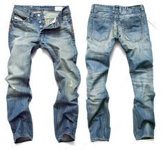 Willstyle Fashion Casual Jeans Pants