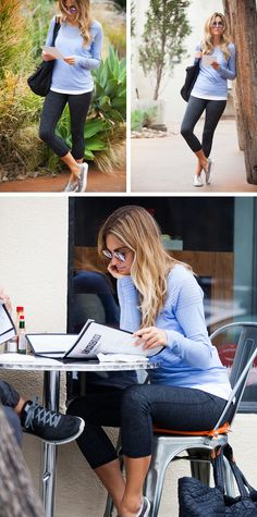 How To Wear Yoga Pants All Day | The City Look | Athleta Chi Blog