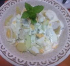 Salada de batata com iogurte