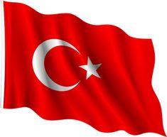 türk bayrağı dalgalanan