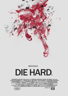I would love an awesome theater/poster room.and this Die Hard poster is perfect! Hard Movie, We Movie, Cool Posters, Film Posters, Bonnie Bedelia, Underground Film, Inspirational Movies, Cinema, Alternative Movie Posters