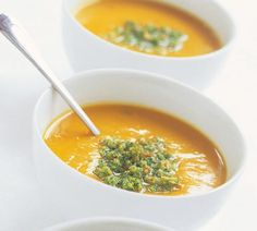 Thai Pumpkin Soup by Annabel Langbein: deliciously delicious and even better with a couple of kumara added in to thicken everything up.