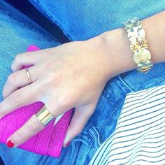 Gold Rings and Bracelet #pmaccessories Shop at priscillama.com