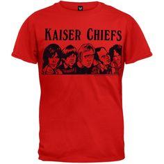 Kaiser Chiefs - Cartoon T-Shirt