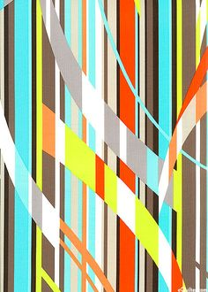 eQuilter Freestyle Stripe cotton fabric