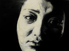 """untitled"" - 2012  x  Acrylics on board"