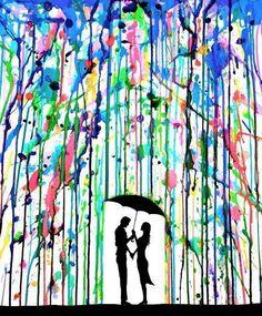 Regen-verf