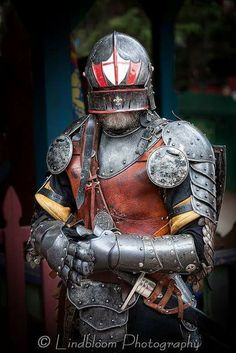 Steel and Leather German Armor