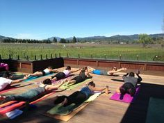 Wine + Workouts = Wellness in Napa Valley