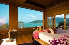 Beautiful room with amazing view in Santhiya Resort & Spa on Koh Phangan in Thailand