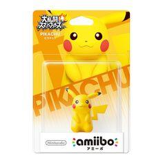 Nintendo amiibo(アミーボ) 大乱闘スマッシュブラザーズシリーズ ピカチュウ [Wii U/3DS/3DSLL ゲーム連動キャラクターフィギュア]