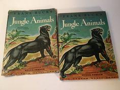 1945 Frank Buck's Bring 'Em Back Alive Jungle Animals Book Fermin Fraser by Hannahandhersisters on Etsy
