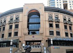 Mandela Square, Sandton, South Africa.