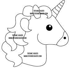 Resultado De Imagen Para Molde Almofada Emoji Figuras De Unicornio Moldes Unicornio Unicornio De Fieltro