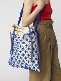 Notka taske, fishnet shopper bag, fishnet bag, string shopper bag