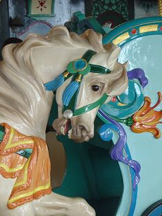 PTC Carousel Horse in Santa Monica