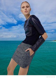 Keke Lindgard Wears Edgy Fashion for SCMP Style by Paul de Luna