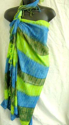 Bali sarong wrap.