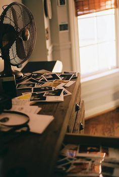 Scattered Polaroids