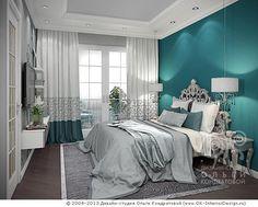 3D дизайн спальни в квартире - http://www.ok-interiordesign.ru/ph18_bedroom_interior_design.php