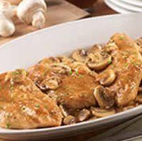 Olive Garden Chicken Marsala...what Mama always ordered when we went.
