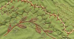 TAST 2012 Week 4 Cretan Stitch | by stitchintime posted on Flickr by Gayle Schippen