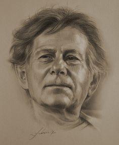 Celebrity Pencil Portraits - Roman Polanski