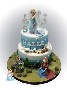 Frozen (yep, another one!) - Cake by June