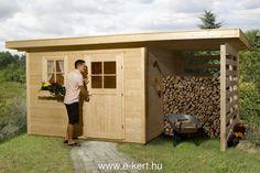 Faház fatárolóval több méretben is rendelhető | e-kert - minden ami kert | kerti házak, nyitott garázs, kerti bútor, szauna, kerti medence, WEKA