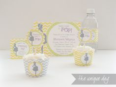 yellow neutral baby shower ideas from The Unique Day. About to pop! ready to pop!