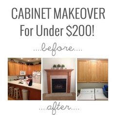 I am so excited to finally have my cabinet makeover up on the blog!! You HAVE to click over to see the after photos! Link in profile.