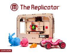 Replicator 3-D printer from MakerBot