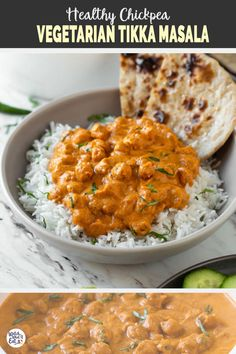 Enjoy authentic Indian flavors in this Healthy Chickpea Tikka Masala Simple and easy vegetarian tikka masala recipe for a weeknight meal or to serve at a party watchwhatueat tikkamasala chickpea chickpeacurry Indiancooking Vegetarian Recipes Videos, Spicy Recipes, Veggie Recipes, Indian Food Recipes, Cooking Recipes, Healthy Recipes, Vegetarian Dinner For One, Healthy Indian Recipes Vegetarian, Healthy Indian Food