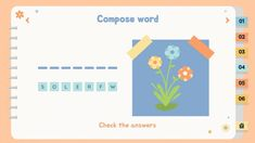 Powerpoint Game Templates, Free Powerpoint Presentations, Powerpoint Slide Designs, Microsoft Powerpoint, Presentation Slides Design, Interactive Presentation, Ppt Themes, Cute Slides, Nature Activities