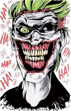 Let's put a smile on that face joker joker, joker art и joke Joker Dc Comics, Joker Comic, Joker Art, 3 Jokers, Jokers Wild, Harley Quinn Cosplay, Joker And Harley Quinn, Hahaha Joker, Joker Drawings