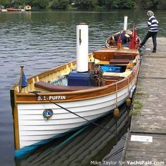 Modern wood boat