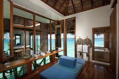 Dream bathroom! The Conrad Hotel on Rengali Island, Maldives