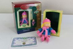 AMERICAN GREETINGS CARLTON CARDS ORNAMENT CABBAGE PATCH KIDS CHRISTMAS HOLLY