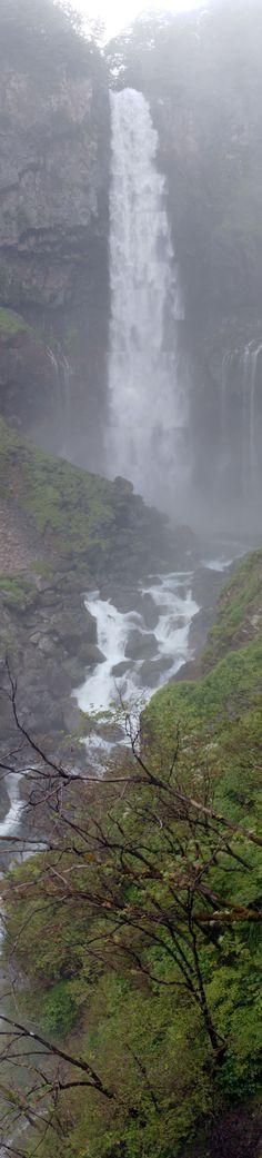 Kegon Great Falls in the fog