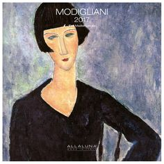 Modigliani 2017 Wall Calendar - Detroit Institute of Arts Museum Shop