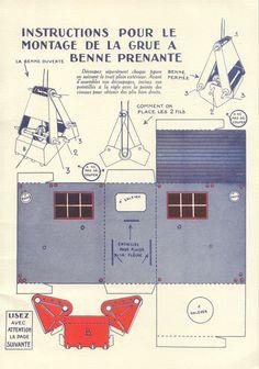 """Zig et Puce Mécanos, les découpages de """"Dimanche Illustré"""", page 13, éditions Hachette, 1931."""