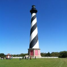 Cape Hatteras Lighthouse in Buxton, NC http://www.atlanticrealty-nc.com/blog/best-activities-obx-all-ages