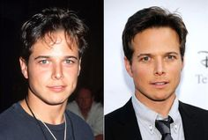 Who wasn't in love with Scott Wolf as Bailey Salinger on the hit '90s drama 'Party of Five'?  And while he was smokin' in 1995 (l.), the star doesn't seem to have aged a day since then. With Wolf's boyish good looks and devilish grin, we wouldn't be surprised if he continues to melt women's hearts well into his 90s.