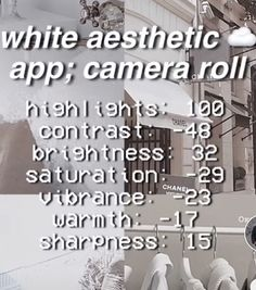Good Photo Editing Apps, Instagram Photo Editing, Instagram Posts, Cute Camera, Camera Roll, Aesthetic Filter, White Aesthetic, Cute Pictures, Cool Photos